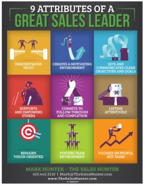 9 Traits of a Sales Leader